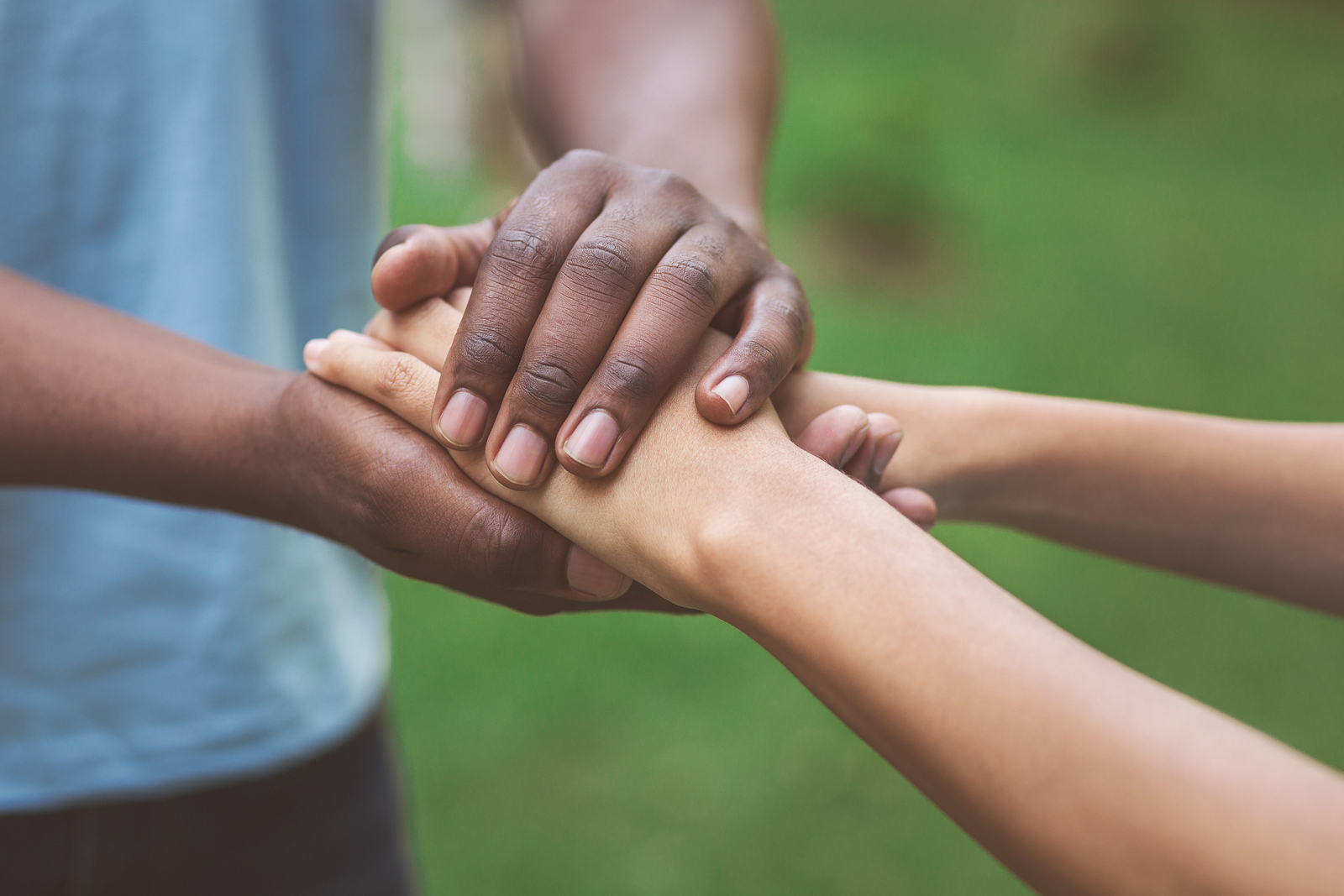 Philanthropy, Kindness, Volunteering. Black Millennial Caregiver